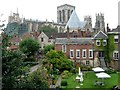 SE6052 : York Minster from the city walls : Week 38