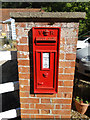 TG0231 : Victorian postbox at Swanton House by Adrian S Pye