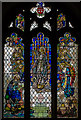 TQ5827 : Stained glass window, St Dunstan's church, Mayfield : Week 39