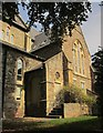 ST5874 : St Saviour's church, Woolcott Park by Derek Harper