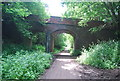 TQ4736 : Bridge over the Forest Way by N Chadwick