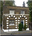TQ3482 : Parish watch house, Bethnal Green by Julian Osley