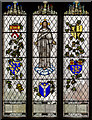 TQ9240 : Stained glass window, St Margaret's church, Bethersden by Julian P Guffogg