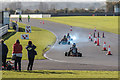 TM0089 : Go-Karting at Snetterton Circuit, Snetterton, Norfolk by Christine Matthews