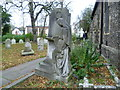 TQ1785 : The Powis memorial, St John's Churchyard, Wembley by Marathon