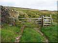 SE0127 : Gate on farm track by Humphrey Bolton