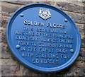Photo of Golden Fleece, Thirsk blue plaque