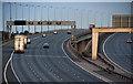 SJ6688 : M6 Motorway by Peter McDermott