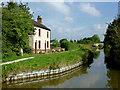 SJ8357 : Ex-pub and ex-bridge near Kent Green, Cheshire by Roger  Kidd