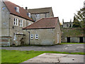 SK9843 : Ancaster Hall, the old kitchen by Alan Murray-Rust