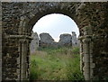 TF6620 : The ruined church of St James at Bawsey by Mat Fascione