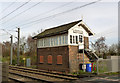 SK6687 : Ranskill signal box by Alan Murray-Rust