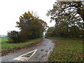 TM1581 : Broad Way, Thelveton by Adrian Cable