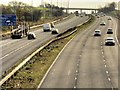 SD5417 : M6 Motorway by David Dixon