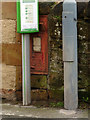 SK4855 : Disused postbox, Church Street by Alan Murray-Rust