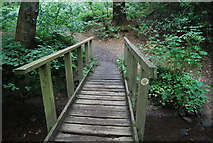 SE3158 : Footbridge across Bilton Beck by N Chadwick