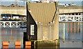 J3474 : The Lagan Weir footbridge, Belfast - December 2014(1) by Albert Bridge