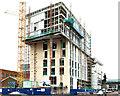 "J3374 : Block ""B"" University of Ulster site, Belfast - December 2014(2) by Albert Bridge"
