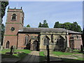 SJ7773 : St Lawrence's Church by Peover Hall, Over Peover by Colin Park