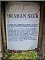 NH4858 : Brahan Seer - Information plaque by Richard Dorrell