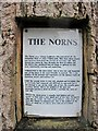 NH4858 : The Norns - information plaque by Richard Dorrell