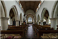 TQ4655 : Interior, St Martin's church, Brasted by J.Hannan-Briggs