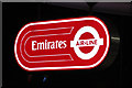 TQ4080 : Emirates Airline sign by Oast House Archive