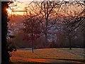 ST3087 : A frosty sunrise in Belle Vue Park : Week 52