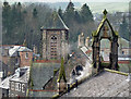 NT4936 : A Galashiels roofscape : Week 52