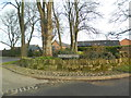 SJ5456 : Entrance to Peckforton Hall Farm by John Lord