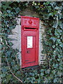 SW8775 : Harlyn: postbox № PL28 4 by Chris Downer