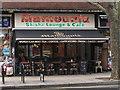 TQ2580 : Shisha lounge and cafe, Queensway by David Hawgood