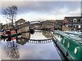 SE1416 : Huddersfield Broad Canal, Aspley Basin by David Dixon