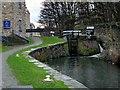 SE1416 : Huddersfield Canals, Lock 1 by David Dixon