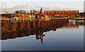 SD4764 : Bridge construction, Lancaster Canal : Week 1