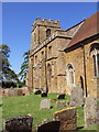 SP3145 : The southwall - Church of St Lawrence, Oxhill, Warwickshire by Johan VAN DIJK