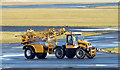 J3775 : De-icing sprayer, George Best Belfast City Airport (January 2015) by Albert Bridge