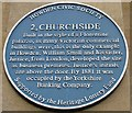 Photo of Blue plaque number 10185