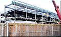 J3272 : The new Railway Stand, Windsor Park, Belfast - January 2015(1) by Albert Bridge