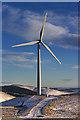 NN9806 : Wind turbine north of Ben Thrush : Week 4