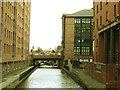 SJ8397 : Rochdale Canal in Manchester by Stephen Craven