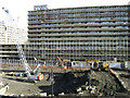 TQ3278 : The void is being filled � Heygate Estate redevelopment near Elephant & Castle by Robin Stott