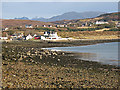 NG8789 : Loch Ewe shoreline at Aultbea by William Starkey