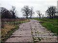 SJ4451 : Farm track near Grafton Hall by Jeff Buck