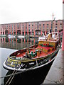 SJ3489 : Tug  Brocklebank  in  Albert  Dock : Week 7 winner