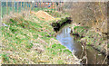 J3673 : Knock River works, Belfast - February 2015(1) by Albert Bridge