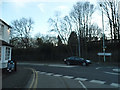 SU8361 : Crowthorne Road at the junction of Yorktown Road by David Howard