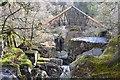 NN6408 : Footbridge at Bracklinn Falls by Jim Barton