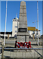 TM5492 : The War Memorial, erected by Lowestoft RAFA by Adrian S Pye