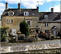 SO8609 : Three Grade II listed  St Mary's Street cottages in Painswick by Jaggery